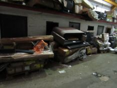 4x pallets of Made.com returns furniture and accessories, these are all deemed beyond economical