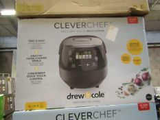| 6X | DREW AND COLE CLEVER CHEF | BOXED AND UNCHECKED | NO ONLINE RESALE | SKU - | RRP £69.99 |