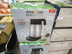 | 4X | DREW AND COLE REDI KETTLE | UNCHECKED AND BOXED | NO ONLINE RESALE | SKU C5060541513587 | RRP