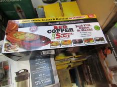 | 9X | RED COPPER CHEF ELECTRIC MEAL MAKERS | UNCHECKED AND BOXED | NO ONLINE RESALE | SKU