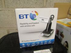 BT cordless headset H55, unchecked and boxed.