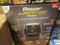 | 8X | POWER AIR FRYER 5.7L | UNCHECKED & BOXED | NO ONLINE RE-SALE | Sku C5060541513068 | RRP £