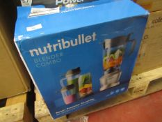 | 1X | NUTRIBULLET BLENDER COMBO | UNCHECKED & BOXED | NO ONLINE RE-SALE | SKU C5060541513068 |