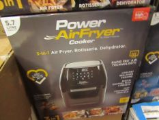| 7X | POWER AIR FRYER 5.7L | UNCHECKED & BOXED | NO ONLINE RE-SALE | Sku C5060541513068 | RRP £