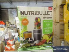 | 8X | NUTRI BULLET 600 SERIES HEALTH BLENDERS | UNCHECKED AND BOXED | NO ONLINE RESALE | SKU |