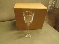 Long Stem Glasses (Box of 6) - New & Boxed.