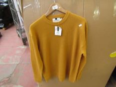 TopMan Jumper Size X/L Mustard Colour ( Has Small Hole In Shoulder )Which Can Easily Repaired