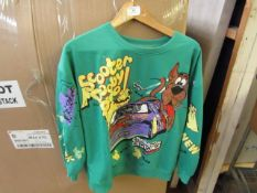 Scooby Doo Themed Sweatshirt Size M Looks in Good Condition