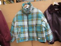 TopShop Padded Jacket Size 14 Looks in Good Condition
