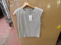 Stradivarius T/Shirt Grey Size S With Tags