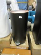 | 1x | MADE.COM CROSS FLAT TOP 27L BIN WITH MATCHING 3L PEDAL BIN | SMALL DENT ON THE BACK WITH