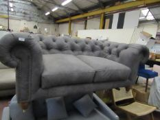 | 1X | SWOON SWOON WINSTON 2 SEATER SOFA | IN VERY GOOD CONDITION | RRP £1499 |