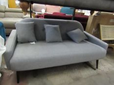 | 1X | SWOON OSLO 2 SEATER SOFA | IN VERY GOOD CONDITION | RRP £779 |