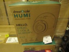 | 7X | DREW AND COLE HUMI PERSONAL FAN 4 IN 1 | UNCHECKED AND BOXED | NO ONLINE RESALE | SKU - | RRP