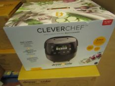 | 7X | DREW AND COLE CLEVER CHEF | BOXED AND UNCHECKED | NO ONLINE RESALE | SKU - | RRP £69.99 |