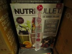 | 6X | NUTRI BULLET 900 SERIES | UNCHECKED AND BOXED | NO ONLINE RE-SALE | SKU C5060191467353 |