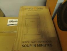 | 8X | DREW AND COLE SOUP CHEF | BOXED AND UNCHECKED | NO ONLINE RESALE | SKU C5060541516809 |