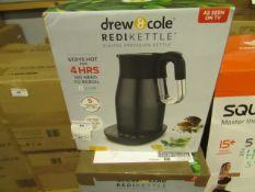 | 8X | DREW AND COLE REDI KETTLE | UNCHECKED AND BOXED | NO ONLINE RESALE | SKU C5060541513587 | RRP