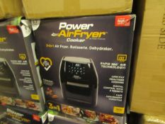 | 5X | POWER AIR FRYER 5.7L | UNCHECKED & BOXED | NO ONLINE RE-SALE | SKU C5060541513068 | RRP £