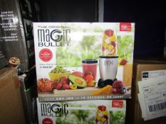 | 7X | THE MAGIC BULLET BLENDER | UNCHECKED AND BOXED | NO ONLINE RESALE | SKU C5060191467360 |