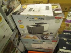 | 4X | DREW AND COLE 2 SLICE TOASTER | UNCHECKED AND BOXED | NO ONLINE RESALE | SKU - | RRP £49.99 |