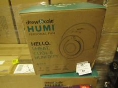 | 8X | DREW AND COLE HUMI PERSONAL FAN 4 IN 1 | UNCHECKED AND BOXED | NO ONLINE RESALE | SKU - | RRP