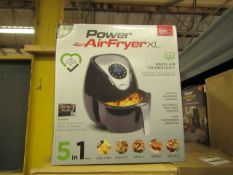 | 4X | POWER AIR FRYER 3.2L | UNCHECKED AND BOXED | NO ONLINE RE-SALE | SKU 5060191468053 | RRP £