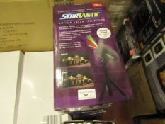 | 8X | STARTASTIC ACTION LASER PROJECTOR | UNCHECKED AND BOXED | NO ONLINE RESALE | SKU - | RRP £