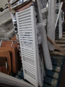 Loco straight towel radiator 1400 x 400, ex-display and boxed. Please note, this lot may contain
