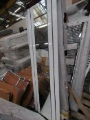 Warmbase towel radiator 600 x 1800, ex-display and boxed. Please note, this lot may contain marks or