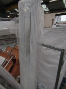 Warmbase straight towel radiator 450 x 1800, ex-display. Please note, this lot may contain marks