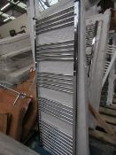 Loco straight towel radiator 1600 x 600, ex-display and boxed. Please note, this lot may contain