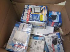 1x BOX OF VARIOUS TOOLS 9790, This lot is a Machine Mart product which is raw and completely