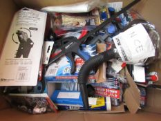 1x BOX OF VARIOUS TOOLS 9786, This lot is a Machine Mart product which is raw and completely