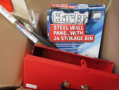 1x BOX OF VARIOUS TOOLS 9784, This lot is a Machine Mart product which is raw and completely