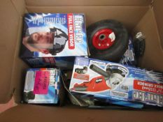 1x BOX OF VARIOUS TOOLS 9783, This lot is a Machine Mart product which is raw and completely