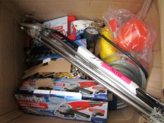 1x BOX OF VARIOUS TOOLS 9789, This lot is a Machine Mart product which is raw and completely