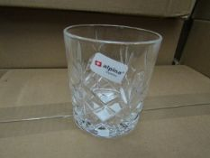12 x 300ml Tumblers. New & boxed. See Image For Design.