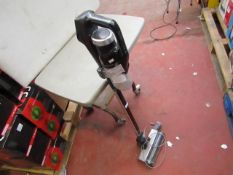Bissell cordless vacuum cleaner, powers on but straight off, appears to be out of charge but we have