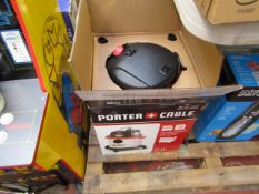 Porter Cable 1000w 19L wet / dry vacuum, tested working and boxed.