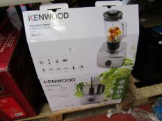 Kenwood MultiPro Home food processor, tested working and boxed. RRP £99.99