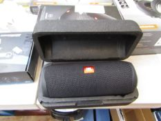 JBL wireless Bluetooth speaker with bass, tested working.