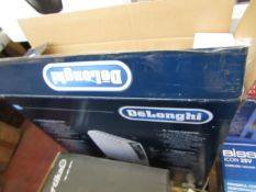 DeLonghi Dragon Pro 4 oil filled radiator, no power and boxed.