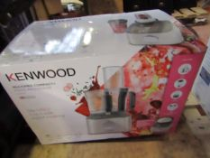 Kenwood MultiPro Compact+ food processor, tested working and boxed. RRP £99.99