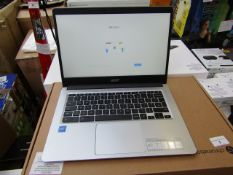 """Acer Chromebook 314 Touch 14"""" Chromebook - Intel® Celeron®, 64 GB eMMC, tested working for main"""
