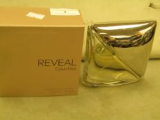 Reveal Calvin Klein Women Eau De Parfum Spray 100MLS Tester 80% Full Boxed