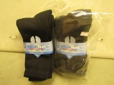10 X Pairs of Mens Sport Socks Size 6-11 New & Packaged