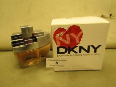 DKNY Donna Karan Eau De Parfum Spray 100MLS Full & Boxed