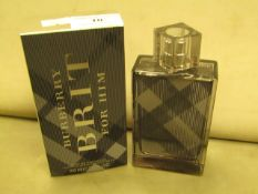 Burberry Brit For Him 100MLS Full & Boxed