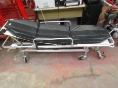 Ferno - Hospital Patient Stretcher Bed - Used Condition & Unchecked For Any Accessories.